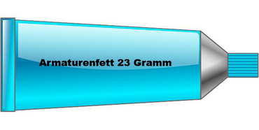 Armaturenfett Tube 23 Gramm
