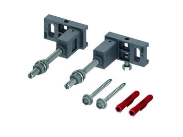 TECE Modulbefestigung 9380000 | Tiefenverstellbar 150 - 240 mm | TECEprofil