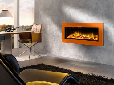 Wodtke Elektrokamin feel the flame No.1 prime orange – Bild 1
