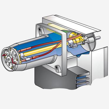 WEISHAUPT Gasbrenner WG5N/1-A   Gasarmatur   Stellantrieb   12,5 -50 kW   23205010 – Bild 4