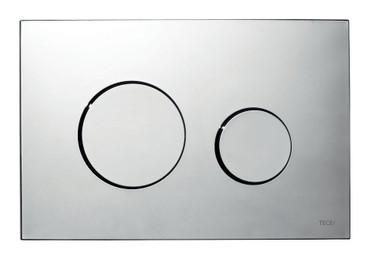 TECEloop Abdeckplatte 9240626 chrom glänzend für Zweimengentechnik