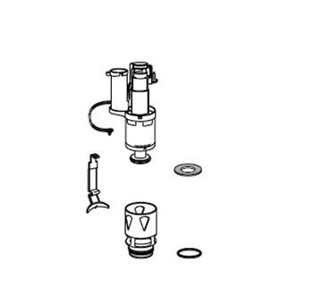 MEPA Ablaufventil-Set 590740 | Unterputz Spülkasten Sanicontrol | SC B21