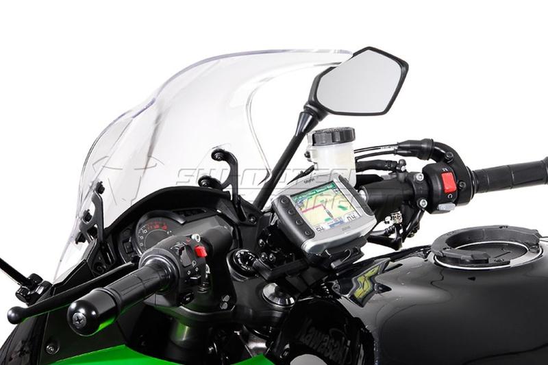 Quick-Lock GPS-Halter Vibrationsgedämpft für KAWASAKI Z 1000 SX – Bild 1