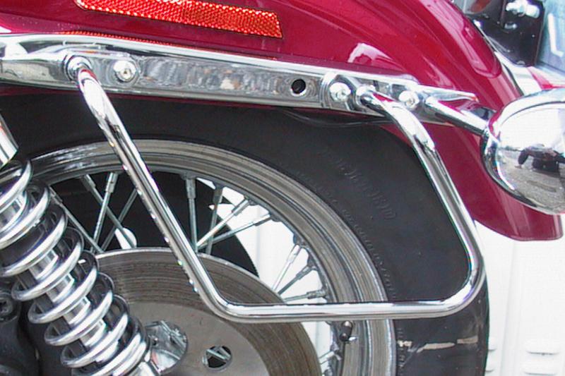 Packtaschenbügel HD Sportster XL Sportster 883,