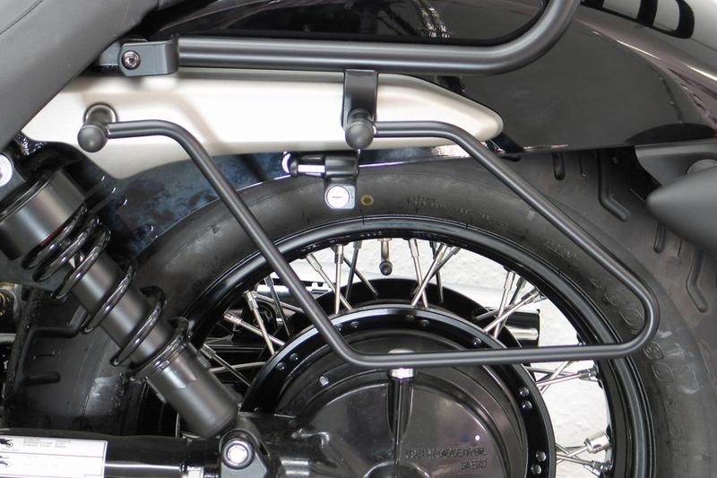 Packtaschenbügel Honda VT 750 C7 Spirit, schwarz