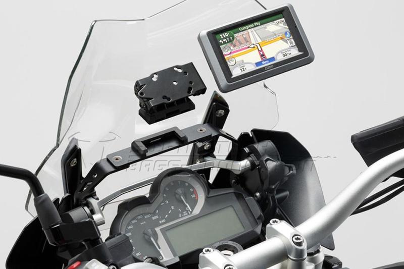 Quick-Lock GPS-Halter, vibrationsgedämpft für BMW