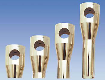 Alu-Riser, poliert, 150 mm, 001