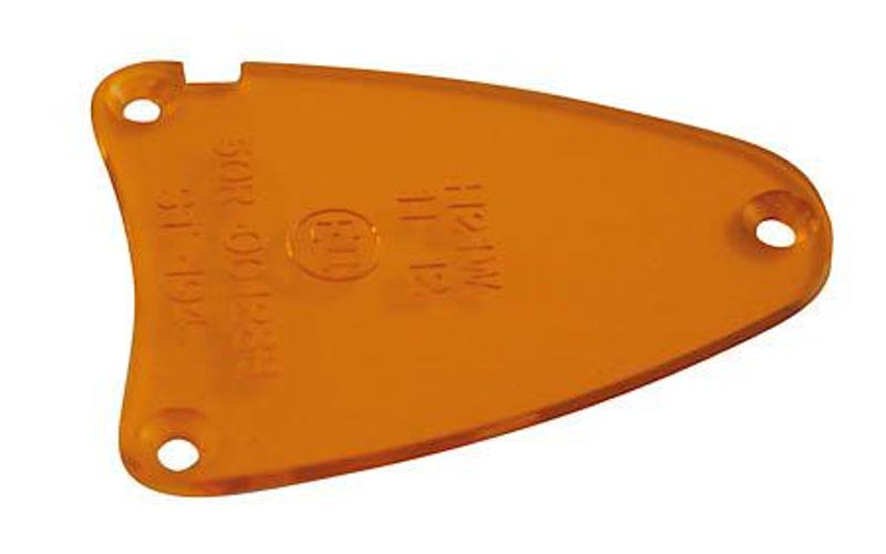 Blinkerglas für AREZZO Blinker 203-126/-128, gelb, E-geprüft