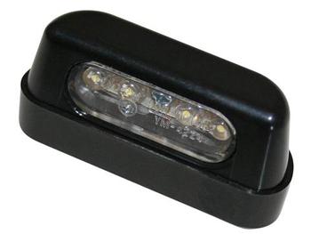 SHIN YO LED-Nummernschildbeleuchtung, ABS schwarz, E-geprüft. 001