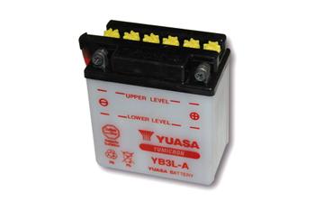 YUASA Batterie YB 3L-A  ohne Säurepack 001