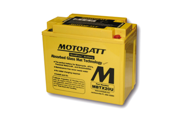 MOTOBATT Batterie MBTX20U, 4-polig 001