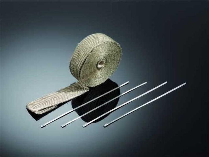 Auspuff Hitzeschutzband, Titanium