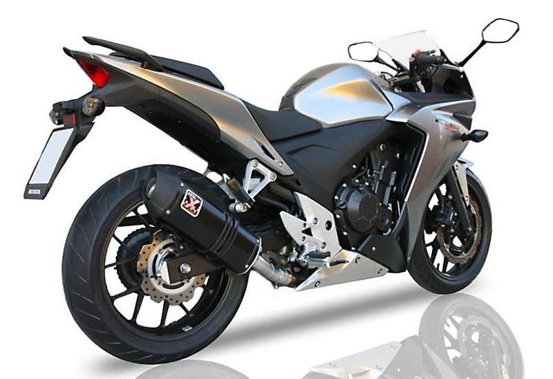 IXIL HEXOVAL XTREM Edelstahl-Endtopf für Honda CBR 500 R / CB 500 F, 16- (Euro4) – Bild 2