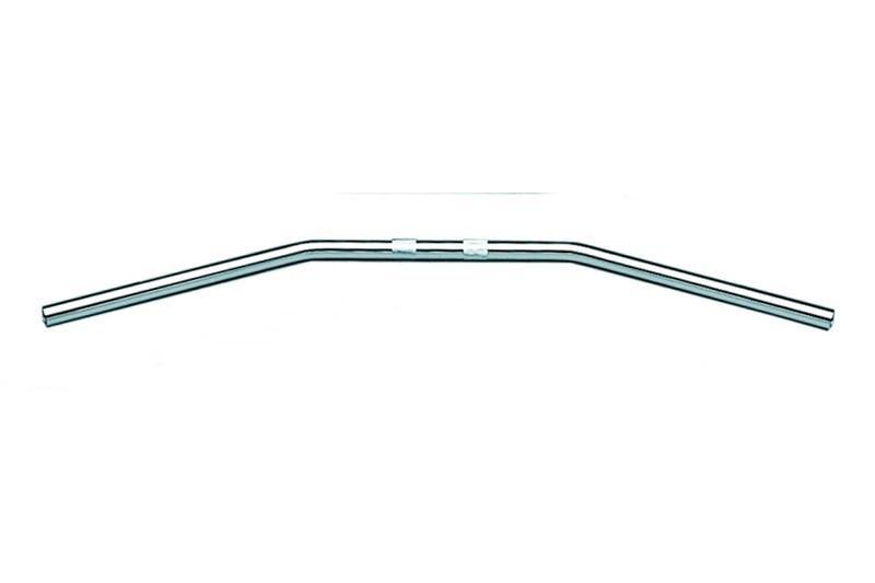 FEHLING Lenker - Drag-Bar, 1 Zoll, chrom – Bild 2