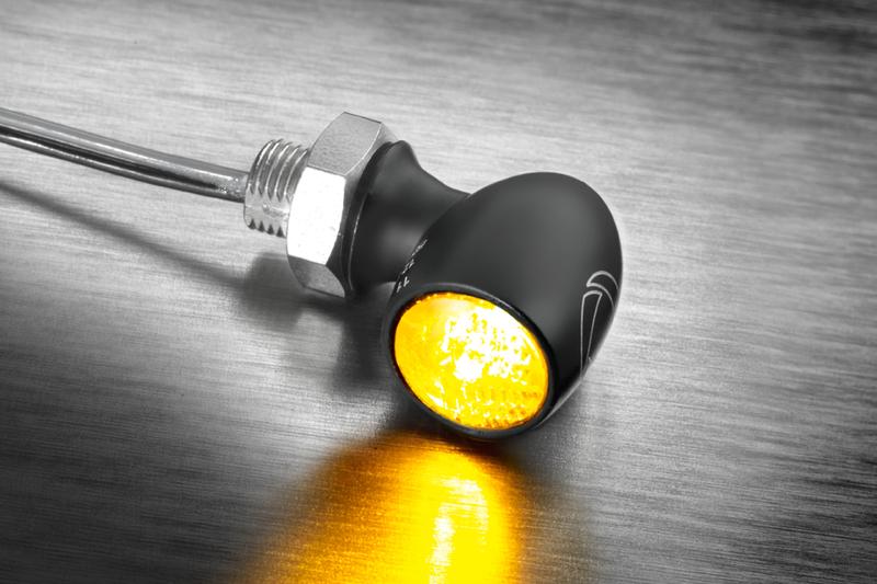 Kellermann LED-Blinker Bullet Atto Dark, getöntes Glas – Bild 2