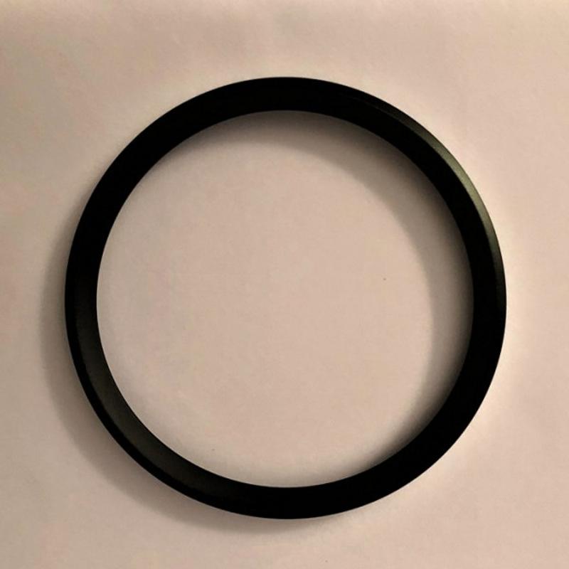 Aluminium Verschluss Ring | oben | schwarz | Serie CA/MA/MD 085