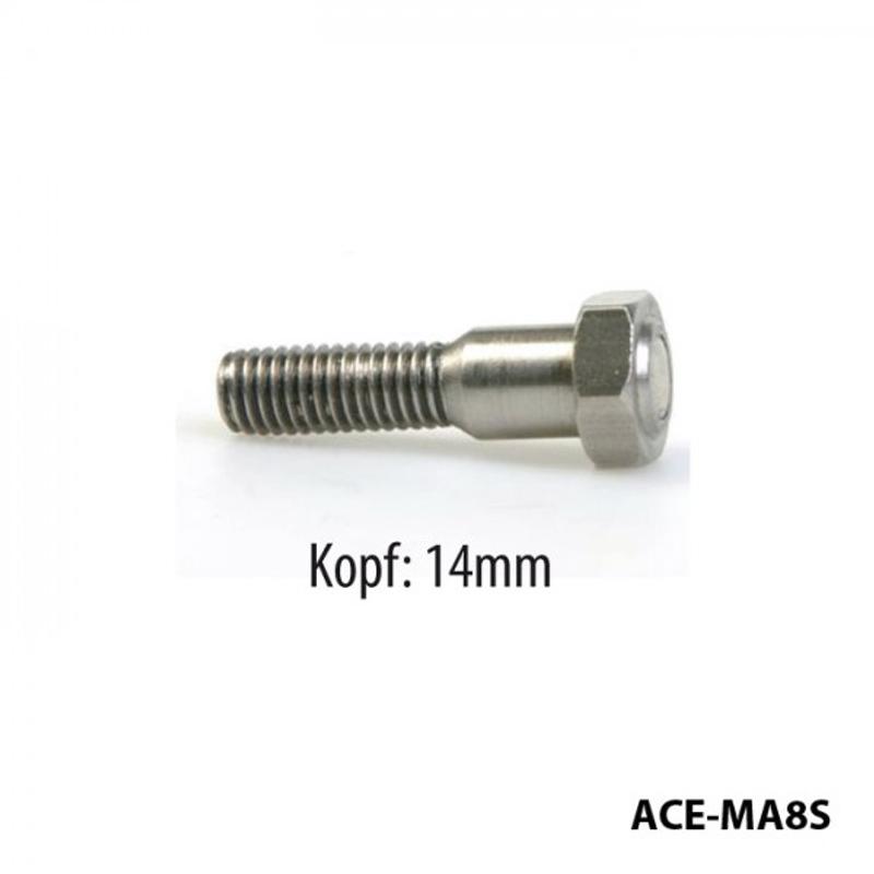 Bremsscheibenschrauben mit Magnet, Suzuki - Kawa., M8 x 1,25 x 33 mm, Kopf 14 mm
