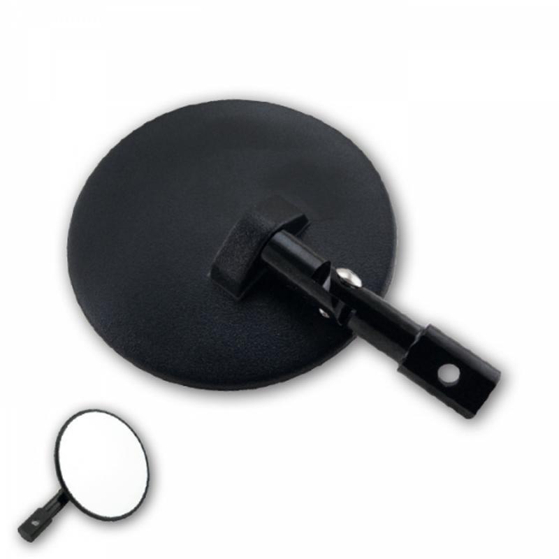 "Lenkerendenspiegel ""Cento"", ABS, schwarz, Paar, Arm verstellbar: 65mm, L 140 x Ø 100 mm, E-geprüft"