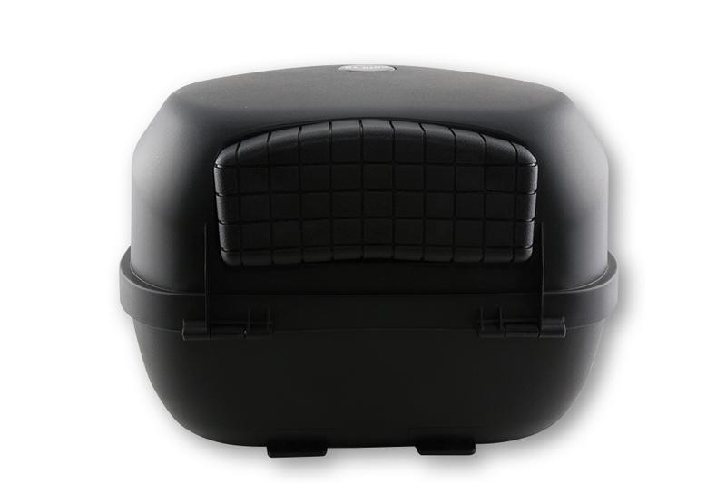SHIN YO Top Case VERONA, schwarz, 32 Liter – Bild 2