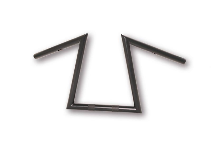 HIGHWAY HAWK Z-LENKER EXTREME, schwarz, 1 Zoll, Höhe 300 mm – Bild 2