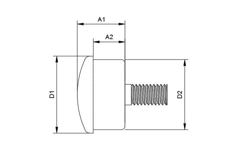 HIGHSIDER ROCKET LED Blinker Einheit, schwarz – Bild 3