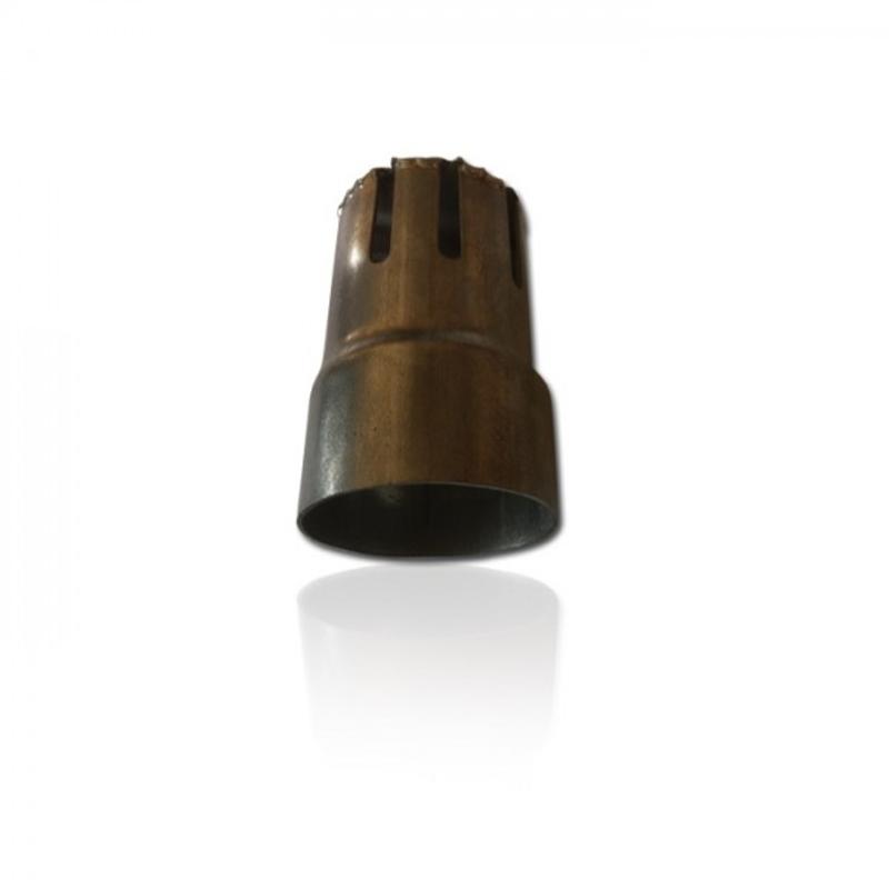 MIVV db-Killer Double Gun Maße: Dämpfer Ø 43 mm / Ausgang 38 mm / L: 63 mm