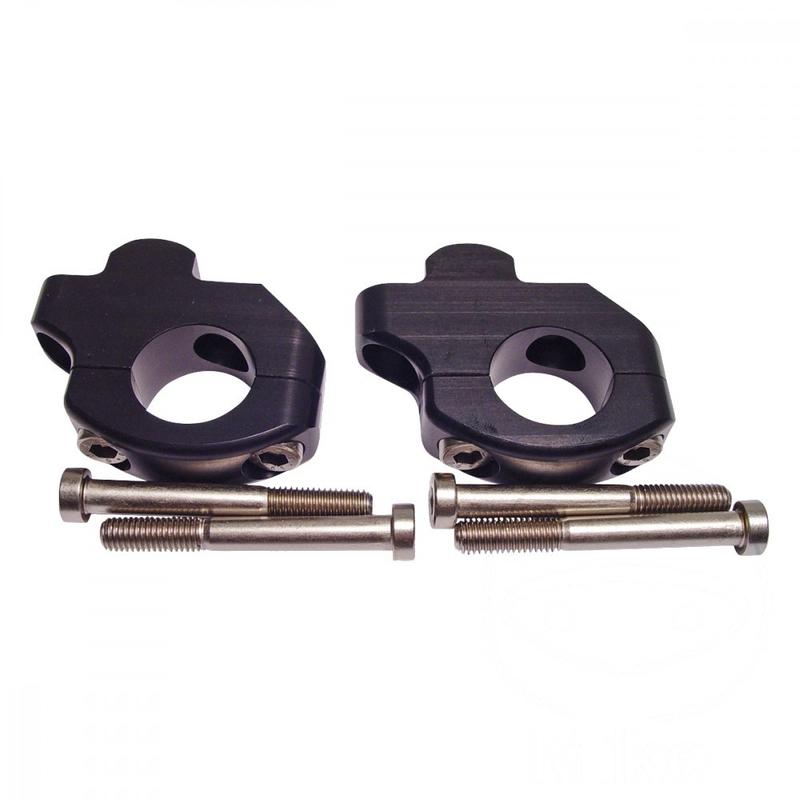 Lenkerklemmsatz für 28mm Lenker, +28mm Erhöhung und Versatz