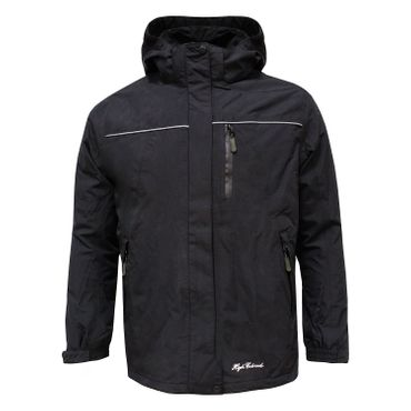 High Colorado Fellhorn 4 - Kinder Doppeljacke 2 in 1 Jacke - 116786-9523 schwarz