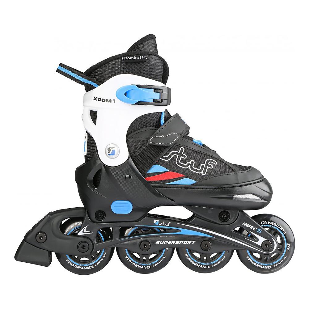 Stuf Xoom 1 Jr – Größenverstellbare Inliner Inline Skates Kinder – 125358-9551