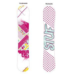 Stuf Amber Jr. Rocker Snowboard - Holzkern Board - 127545