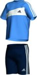 Adidas Infants 3S Summer Set Kinder Shirt und Hose - X13444 001