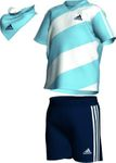 adidas Infants Quarter Summer Set Kinder Shirt und Hose - X13448 001