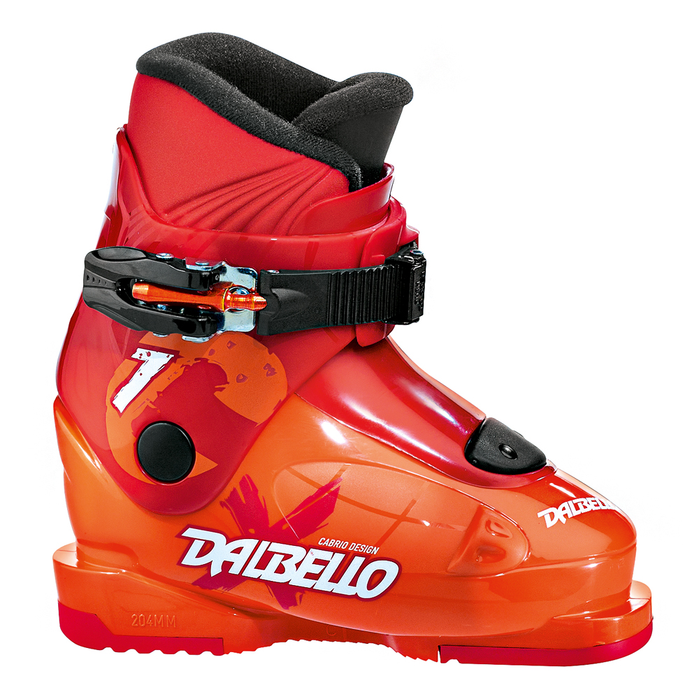 Dalbello CX 1 – Kinder Skischuhe Ski Stiefel – DCX1J5.OR – Orange/Red