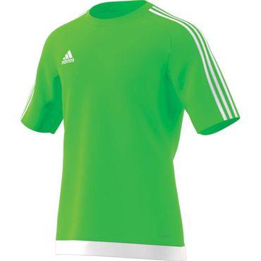adidas Estro 15 - Herren kurzarm Trikot T-Shirt - S16161 neongrün