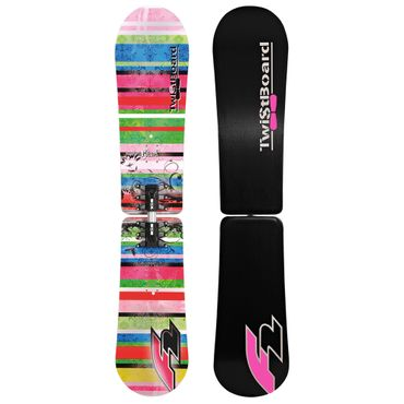 F2 Glam Twistboard - Damen Snowboard Snow Board - Multicolor - 58879028