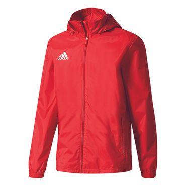 adidas Core 15 Rain Jacket - Herren Regenjacke - BR4125 rot