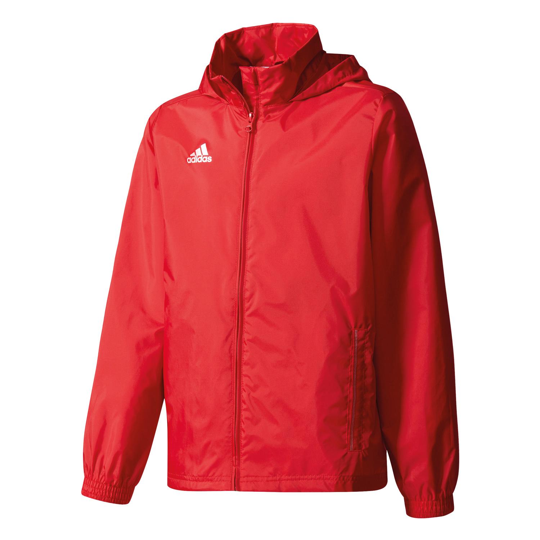 adidas Core 15 Rain Jacket – Gr. 164 – Kinder Regenjacke – S22285 rot