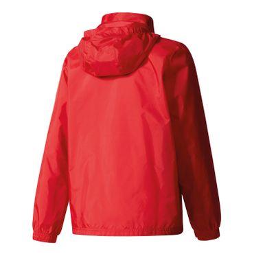 adidas Core 15 Rain Jacket - Kinder Regenjacke - BR4123 rot
