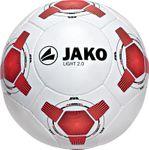 Jako Ball Light 2.0 - Fussball 350 Gramm Trainingsball - 2367-01 weiß/rot 001