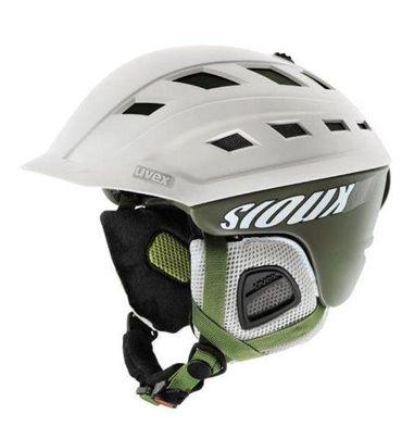 Uvex Sioux - Skihelm Snowboard Helm - S566122910 - khaki/white