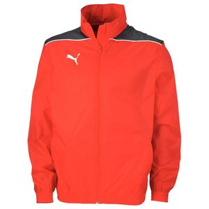 Puma Foundation Rain Jacket - Kinder Regenjacke - 652854-01 rot