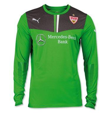 Puma VFB Stuttgart Goalkeeper Shirt - Herren Torwarttrikot - 745495-05 grün/grau