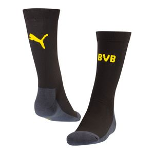 Puma BVB Borussia Dortmund Crew Socks Sockenstutzen - 749817-02 schwarz