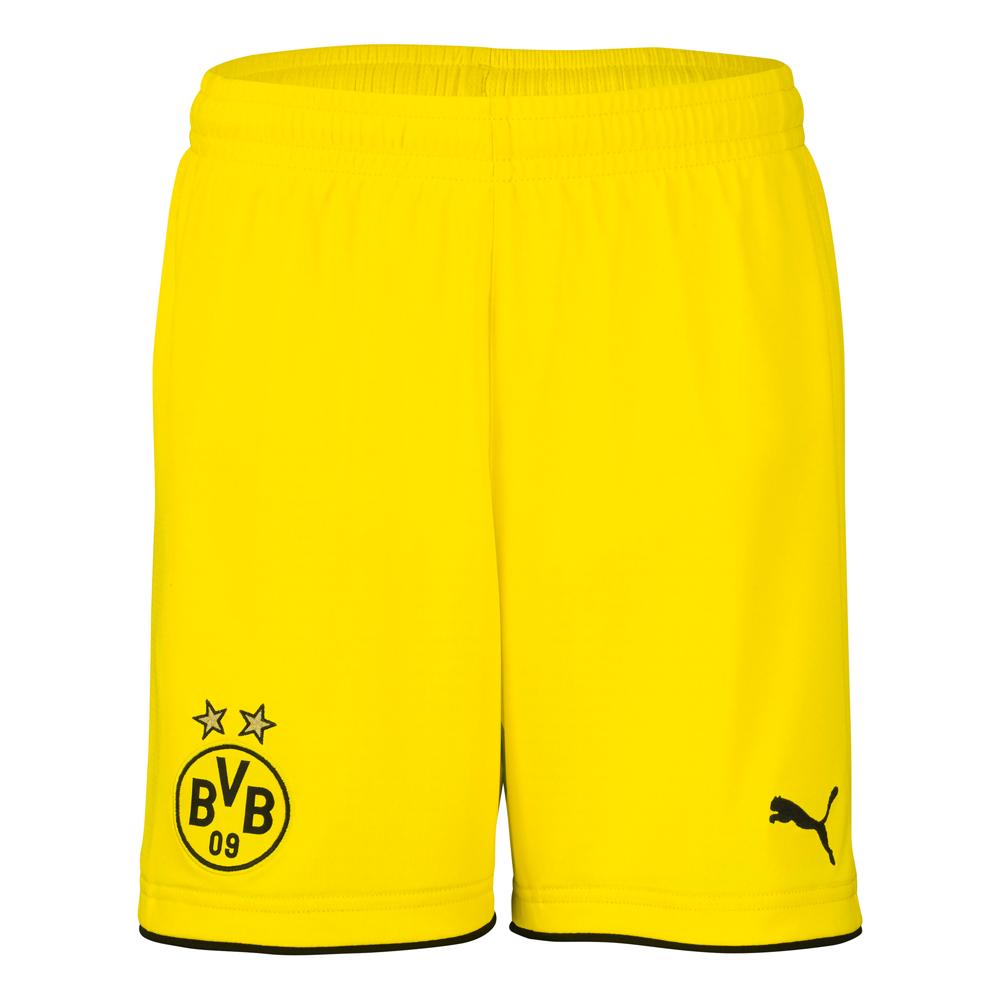 Puma BVB Borussia Dortmund Kinder Auswärtsshort 16/17 – Gr. 176 – 749834-01