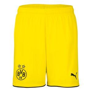 Puma BVB Borussia Dortmund Kinder Auswärtsshort 17/18 - 749834-01 gelb