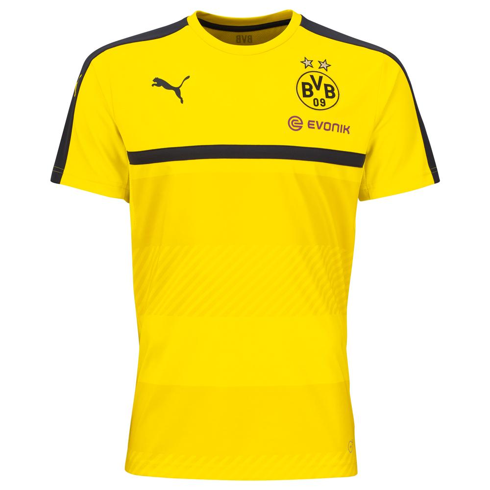 save off 205ee e9722 Puma BVB Borussia Dortmund Kinder Training Jersey 16/17 - 749845-01