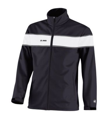 Jako Player Kinder Softshelljacke - 7668-08 - schwarz