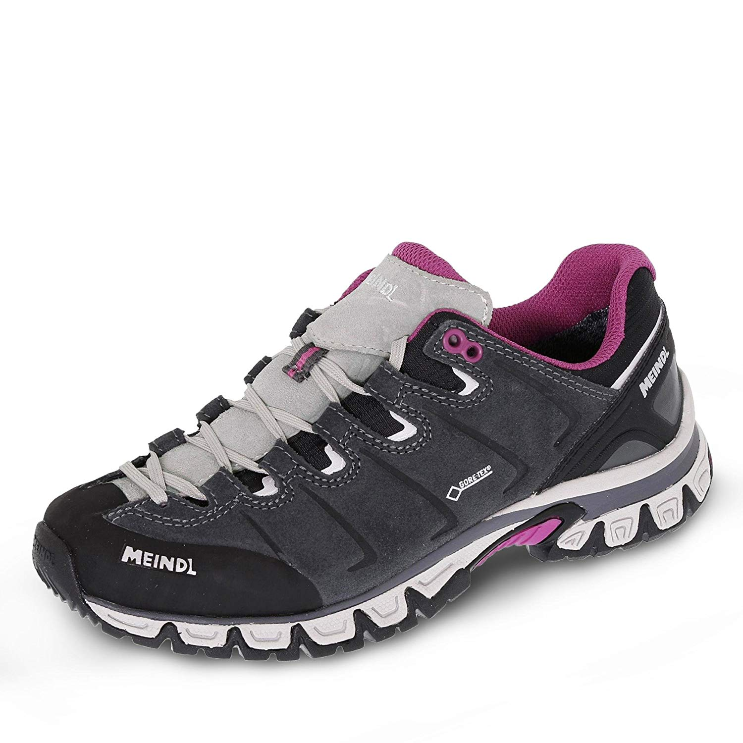 low priced 3f29b b5123 Meindl Pargos Lady GTX - Damen Wanderschuhe GoreTex Outdoorschuhe 9205-31  grau