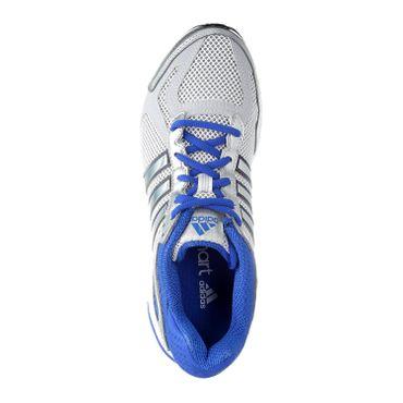 adidas Duramo 5 m - Herren Laufschuhe Joggingschuhe - G96532 weiß/silber/blau