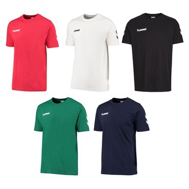 Hummel Core Cotton Tee - Herren Baumwoll T-Shirt - 10er Set